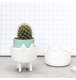 Bloomingville Potje op poten - Kat - 7 x 7 x 4 cm