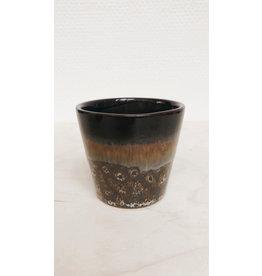Bloomingville Bloempotje Donker Bruin - 6,5 x 6,5 cm
