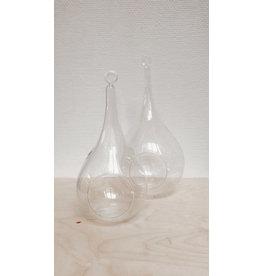 Vanremoortel Druppel - Glas - H 24,5 cm