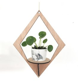 All the things we like Plantenhanger Wood - Diamand - 16,5 x 21 x 50 cm