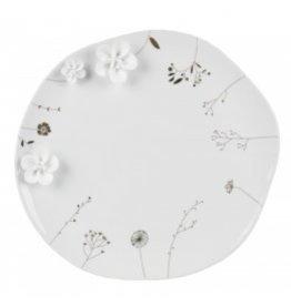 Raeder Bord porselein - wilde bloemen  - Ø 27,5 cm