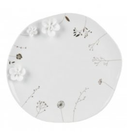 Raeder Bord Porselein - Wilde Bloemen  - Ø 28 cm