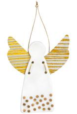 Raeder Beschermengel - Hanger - Bollen Goud - 5cm