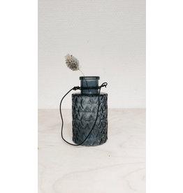 Vanremoortel Hanging Bottle - Blue - Ø 5cm, H 9cm