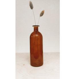 Vanremoortel Wijnfles - Amber - Ø 7cm, H 20cm
