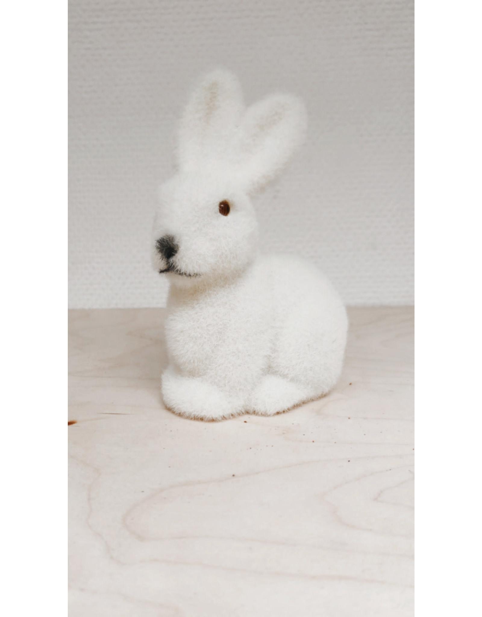 Vanremoortel Fluffy konijn - 7 x 9,5 x 15cm
