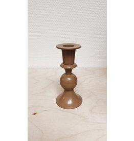 Vanremoortel Kandelaar Lamela- Caramel - Ø 6,5cm, H 12,5cm