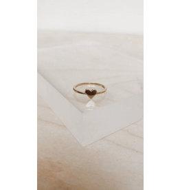 Muja Juma Ring - Hart - 925 -