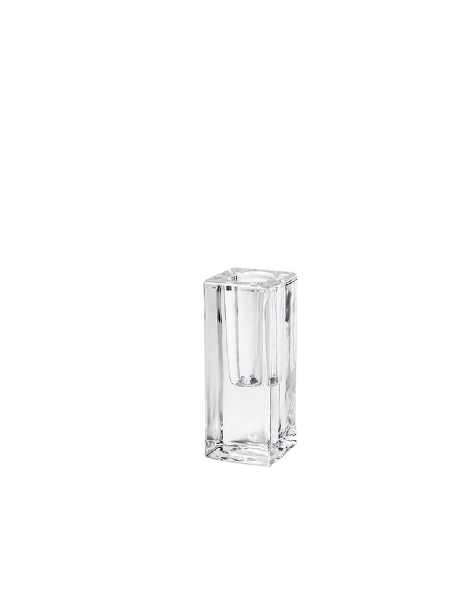 Rustik Lys Kandelaar Classic L - Ø 4 x H 10 cm - Glas