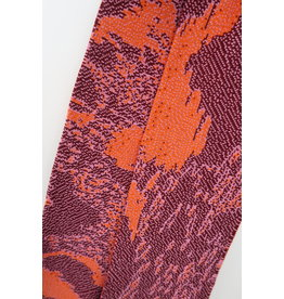 Violet Nys Sjaal - Oranje, Roos, Kastanje - Acryl - 17 x 145 cm