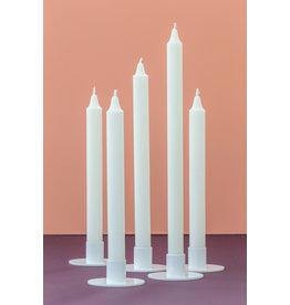 Kunst industrien Kaarsen - 8st - Off White - Ø 2,3 x H 20 cm