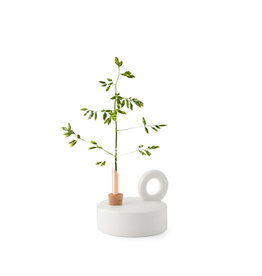 Scandinavia Form Chamber Vase Consilium - White - Ø 7 x H 2,5 cm