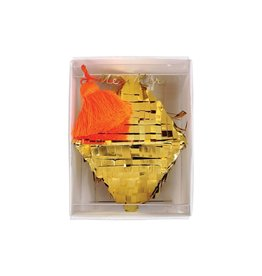 Meri Meri Hangende Decoratie - Gouden Diamant