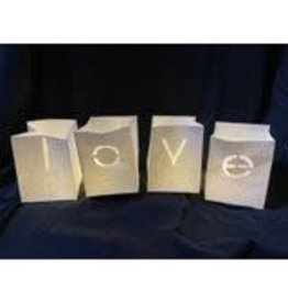 Tindra Licht zakje - Love