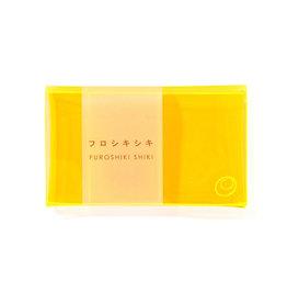 Furoshiki shiki Neon wallet - Fluo oranje - 6,5 x 10,5 cm