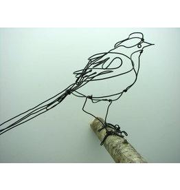 Aline Campana Ijzerdraad vogel - Boomklever