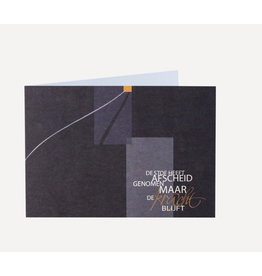 Symposion Wenskaart - De stof - Dubbelkaart + Enveloppe
