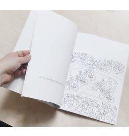 A beautiful story Kleurboek Gent - 31 invulplaten van bekende gebouwen en symbolen uit Gent - Voor klein en groot