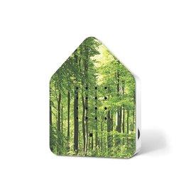 Zwitscherbox - Relaxounds Zwitscherbox Forest - Geluiden: vogelgezang van de Merel - Geluidsduur: 2 min - Geactiveerd door een bewegingsdetector - 3 AA-batterijen inbegrepen - B 11 x H 14,5 x D 3,5 cm - Ideaal voor: badkamer, gastentoilet, entree, gang, kantoor,...
