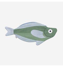 Don Fisher Ritstasje - Sandfish - Herkomst : Californische zee - 28 x 12,5 cm - 100% Katoen