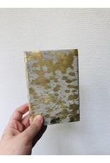 Lamali Boek Nevada Petit - Een uitbarsting van de zon - Zachte leren kaft  - Lineaal gestikte binding - 200 ivoren pagina's - Handgemaakt 100% katoenpapier - 10 x 15 cm