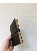 Lamali Boek Routard - Zachte leren kaft  - Gestikte binding - 160 pagina's - Handgemaakt 100% katoenpapier - 11 x 15,5 cm