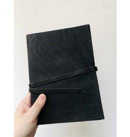 Lamali Boek Routard - Zachte leren kaft  - Gestikte binding - 160 pagina's - Handgemaakt 100% katoenpapier - 15 x 20 cm