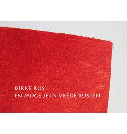 Lies Van Acker Wenskaart - En moge je in vrede rusten  - Postkaart + envelop