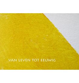Lies Van Acker Wenskaart - Van leven tot eeuwig - Postkaart + envelop