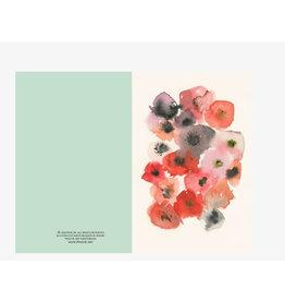 Ping He Art Wenskaart - Wild Beauty - Dubbele kaart + enveloppe - A6