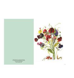 Ping He Art Wenskaart - Floral Fun - Dubbele kaart + enveloppe - A6