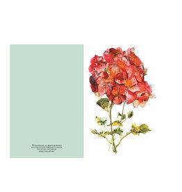 Ping He Art Wenskaart - Red Dream - Dubbele kaart + enveloppe - A6