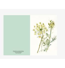 Ping He Art Wenskaart - Lace - Dubbele kaart + enveloppe - A6