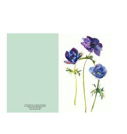 Ping He Art Wenskaart - Purple Haze - Dubbele kaart + enveloppe - A6