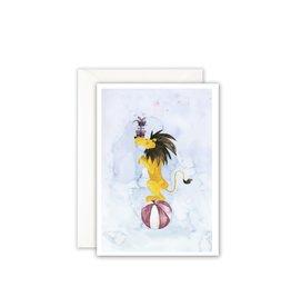 Leo La Douce Wenskaart - Leeuw, Congrats - Postkaart + Envelope - 10 x 15cm