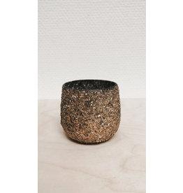 Madam Stolz Bloempot - kleine steentjes - Ø6,5 cm H 7cm