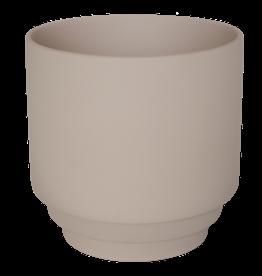 Homedelight Bloempot Nola L - Roze - Keramiek - 15 x 15 cm
