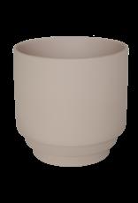 Homedelight Bloempot Nola S - Rose - Keramiek - Ø 9 x 9 cm