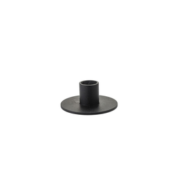 Kunst industrien Kandelaar Zwart - H 5cm dia 2,3cm