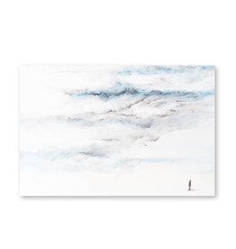 Onar Wenskaart - Staren naar de hemel - Postkaart en Enveloppe - A6