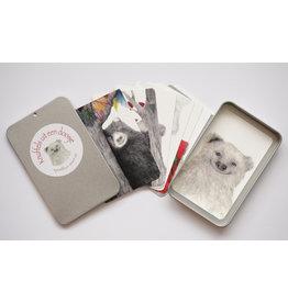 Onar Knuffel uit een doosje - Doosje met 9 kaartjes - 6,3 x 10 x 1,2 cm