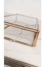 Rose Marie Paris Armband -  Asym Zilver Dots - Lengte 17cm