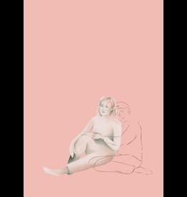 Flore Deman Wenskaart - Knuffel, Je bent niet alleen - Postkaart en Enveloppe - A6