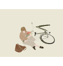 Tina Sosna Wenskaart - Bike ride - Postkaart en Enveloppe - A6