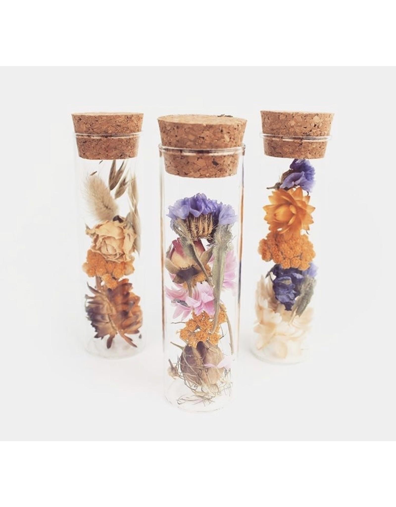 Wildflowers by floriette Droogbloemen - Mini wish bottle