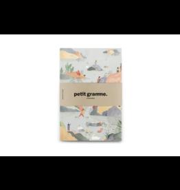 Petit Gramme Notitieboekje Medium, Archipel - 14 x 21 cm - 64 pagina's