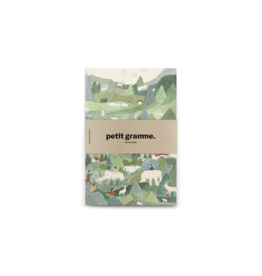 Petit Gramme Notitieboekje Medium, Grand Massif - 14 x 21 cm - 64 pagina's