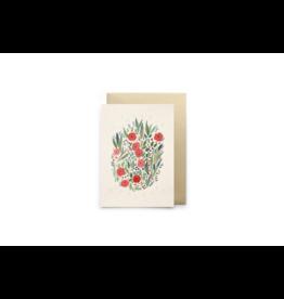 Petit Gramme Wenskaart, Le Pouvoir des Fleurs - Dubbele kaart + Envelop - 11,5 x 16,5 - Blanco