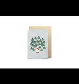 Petit Gramme Wenskaart, Oulanka - Dubbele kaart + Envelop - 11,5 x 16,5 - Blanco