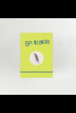 Symposion Op-Steker 'Dank je wel' - Zilverkleurig metalen pin - afmeting veer 3cm x 0,6cm